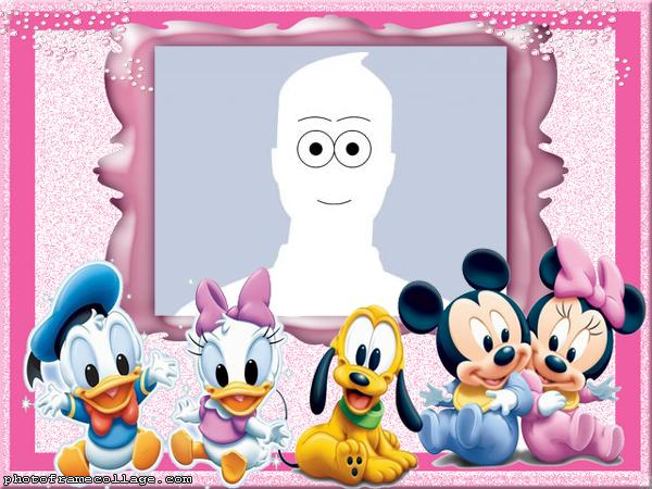 Photo Collage Maker Mickey and Friends