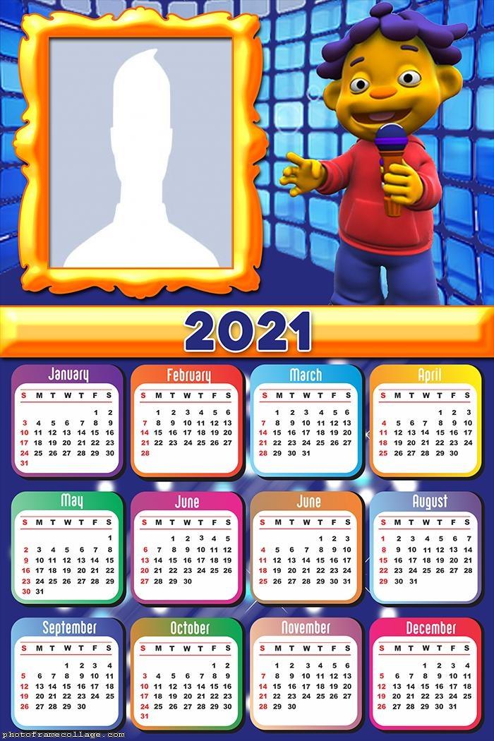 Calendar 2021 Sid the Science