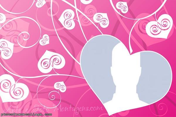Heart Arabesco Photo Montage