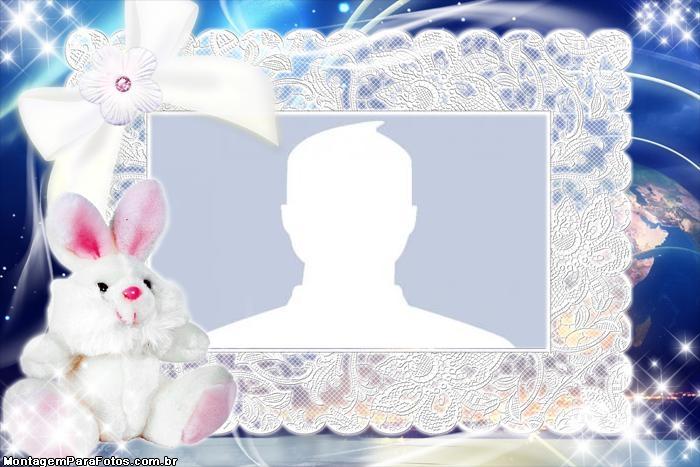 Plush Rabbit Frame