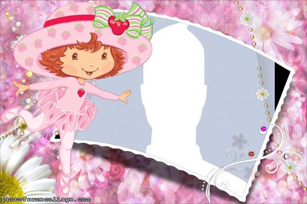 Strawberry Shortcake Photo Collage