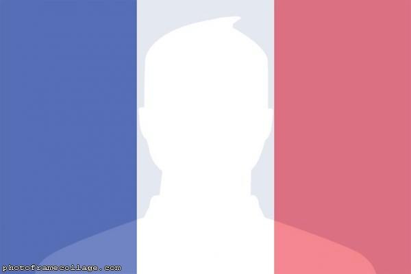 France Flag Frame