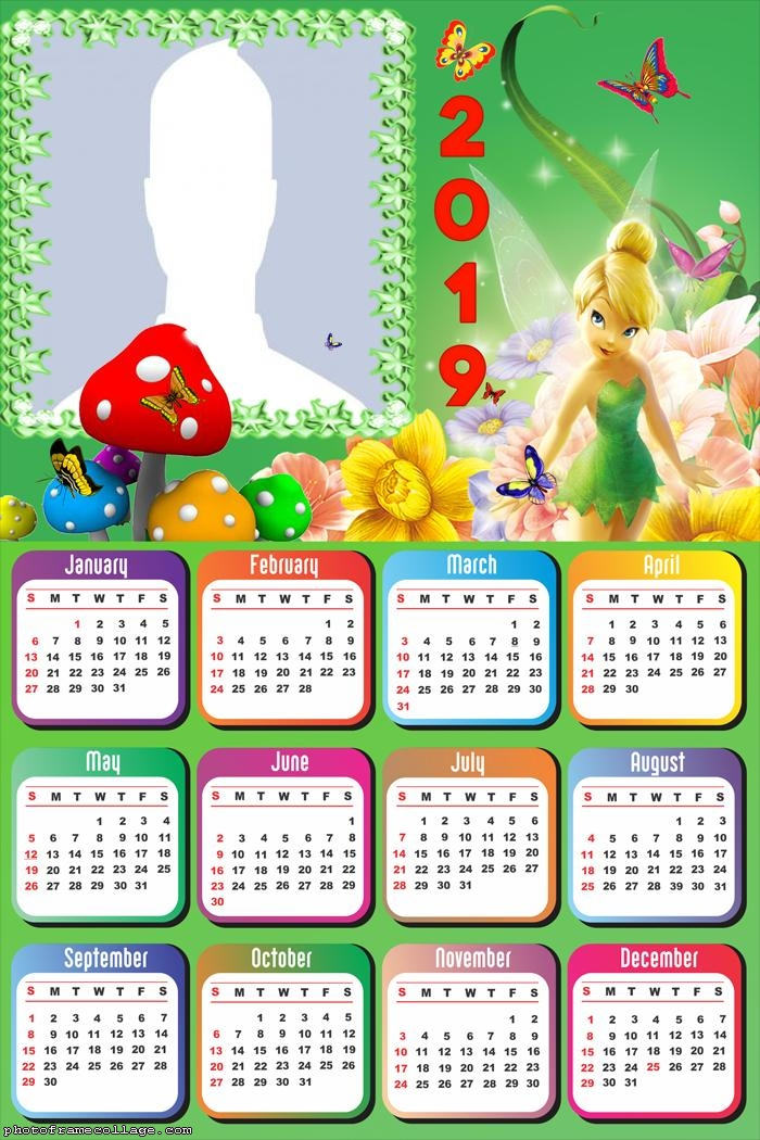 Tinkerbell Magic Calendar 2019