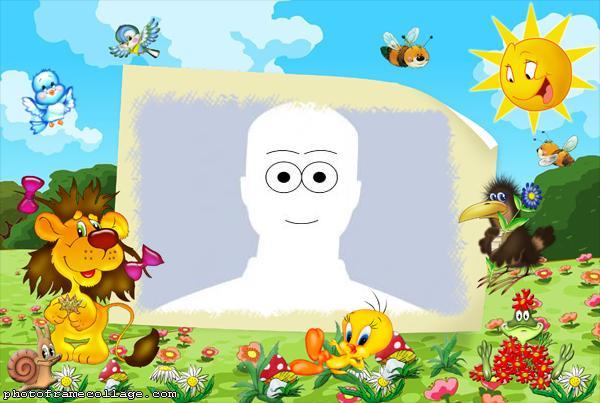 Picture Digital Tweety Cartoon Frame Online