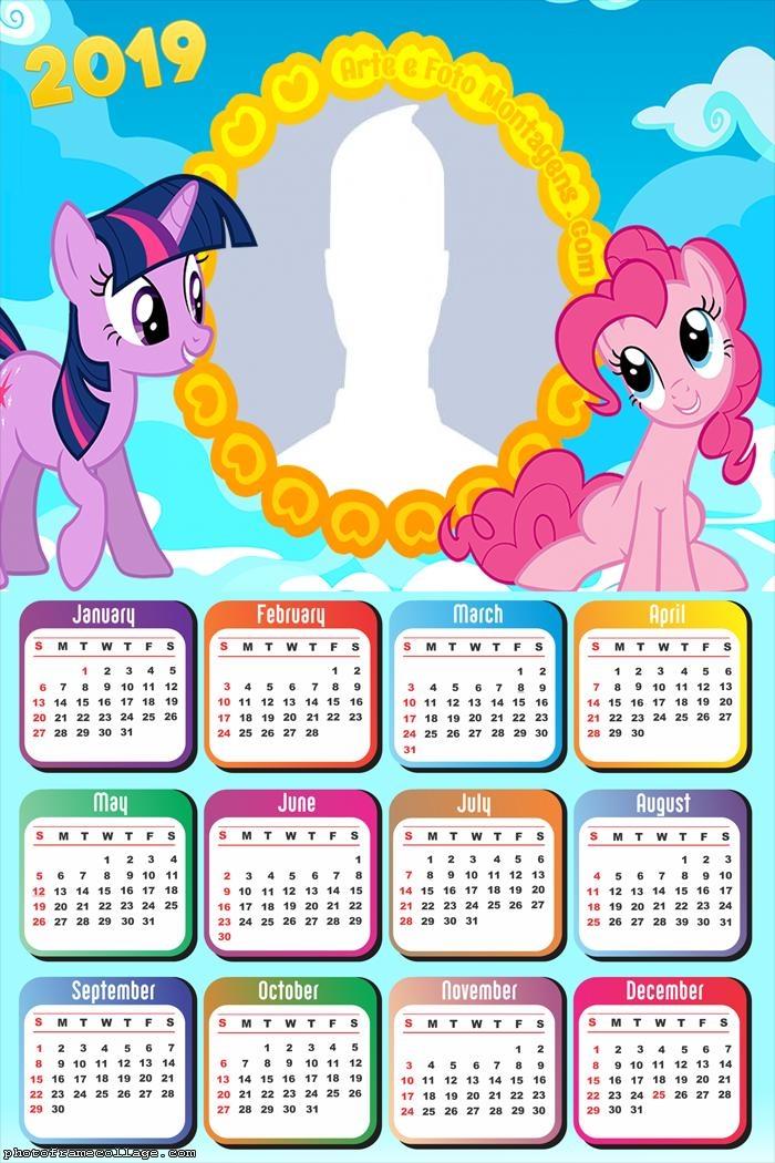 myLittlePony Calendar 2019