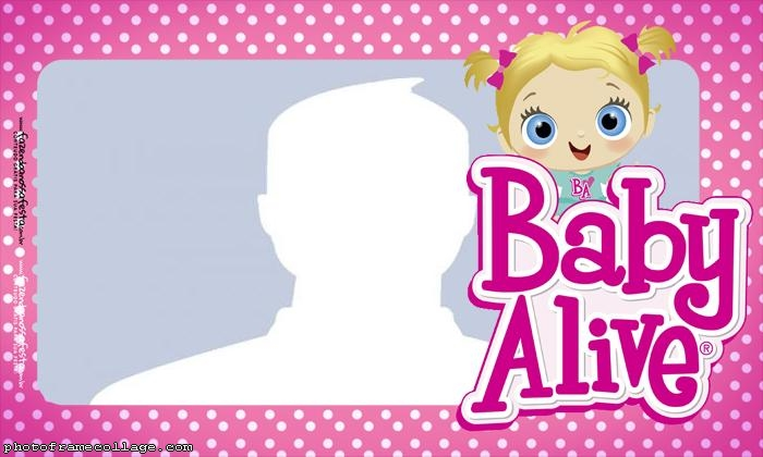 Baby Alive Photo Collage
