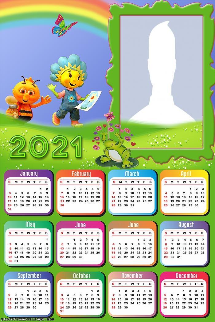 Calendar 2021 Fifi and the Flowertots