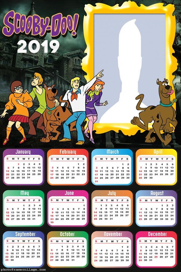 Scooby Doo Calendar 2019