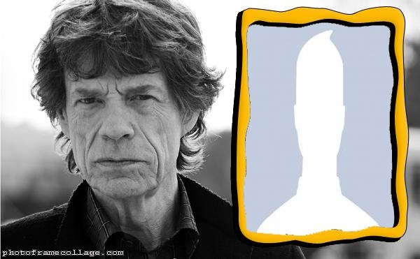 Mick Jagger Photo Collage
