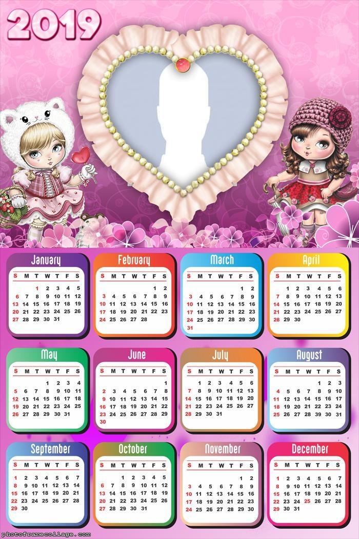 Jolie Calendar 2019