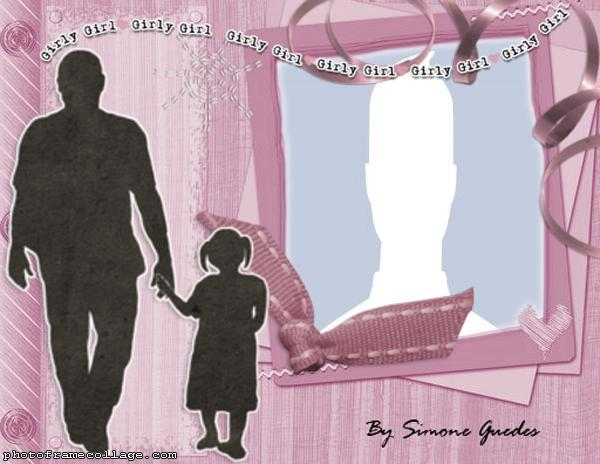 Girly Girl Fathers Day