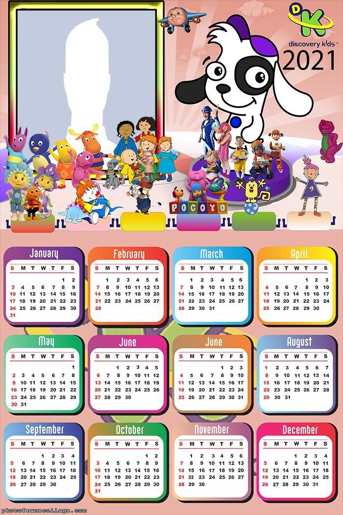 Calendar 2021 Doki Discovery Kids
