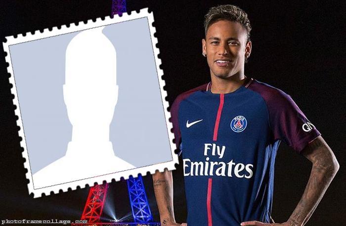 Neymar PSG Photo Collage