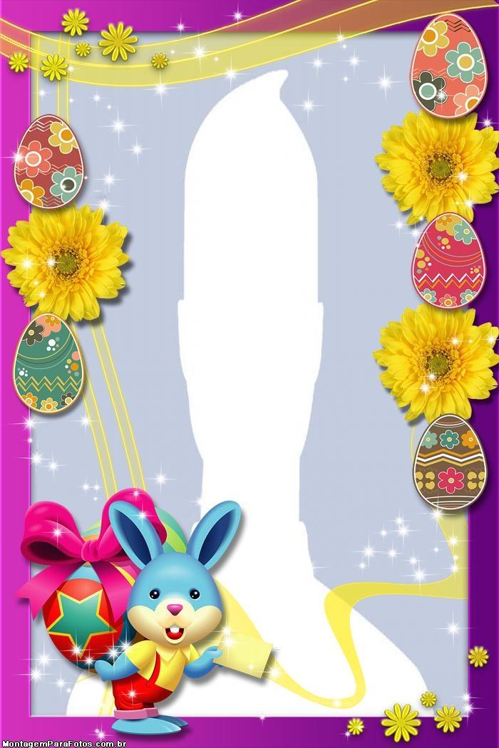 Frame Easter Bunny Carton