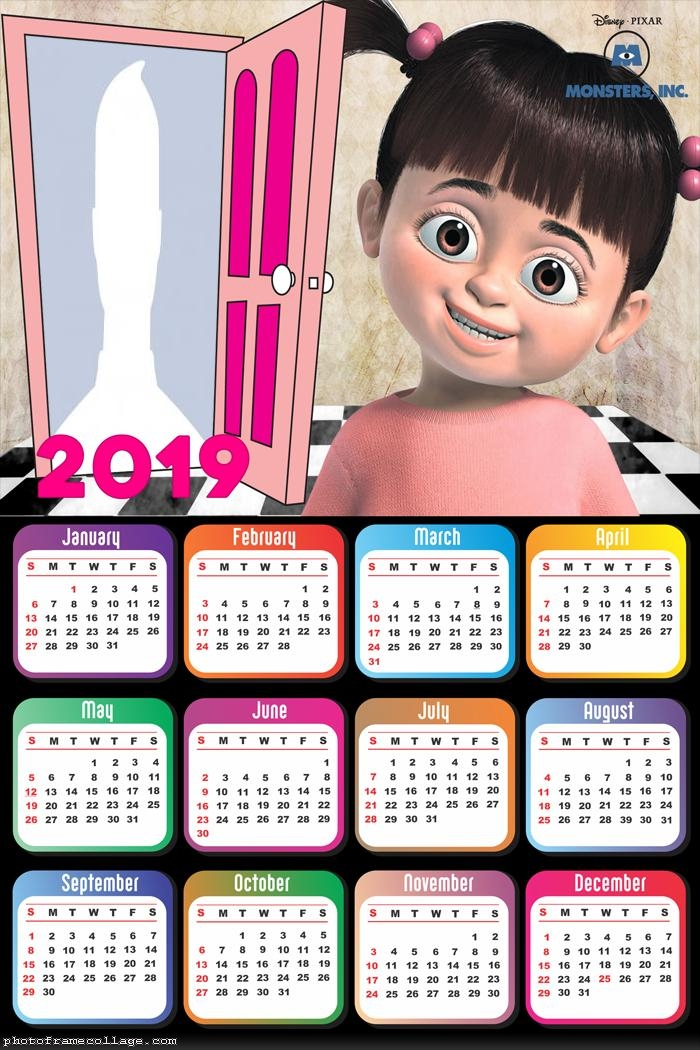Buh Monsters S A Calendar 2019