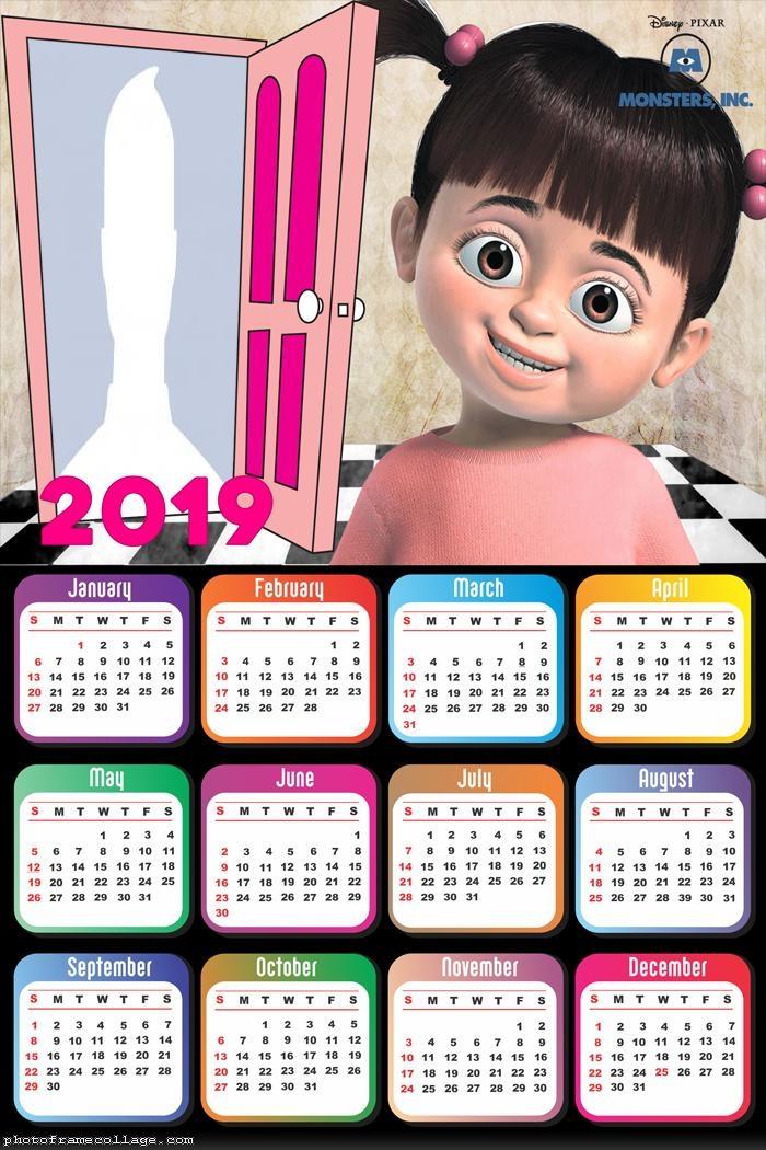 Buh Monsters S A Calendar 2019