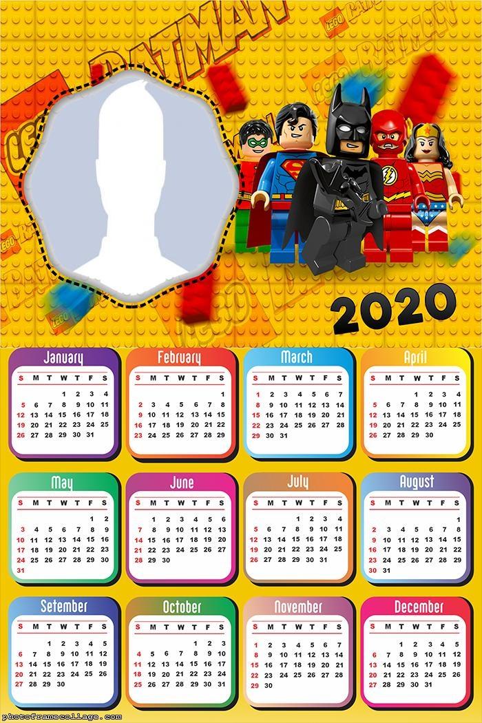Super Heroes Marvel Calendar 2020