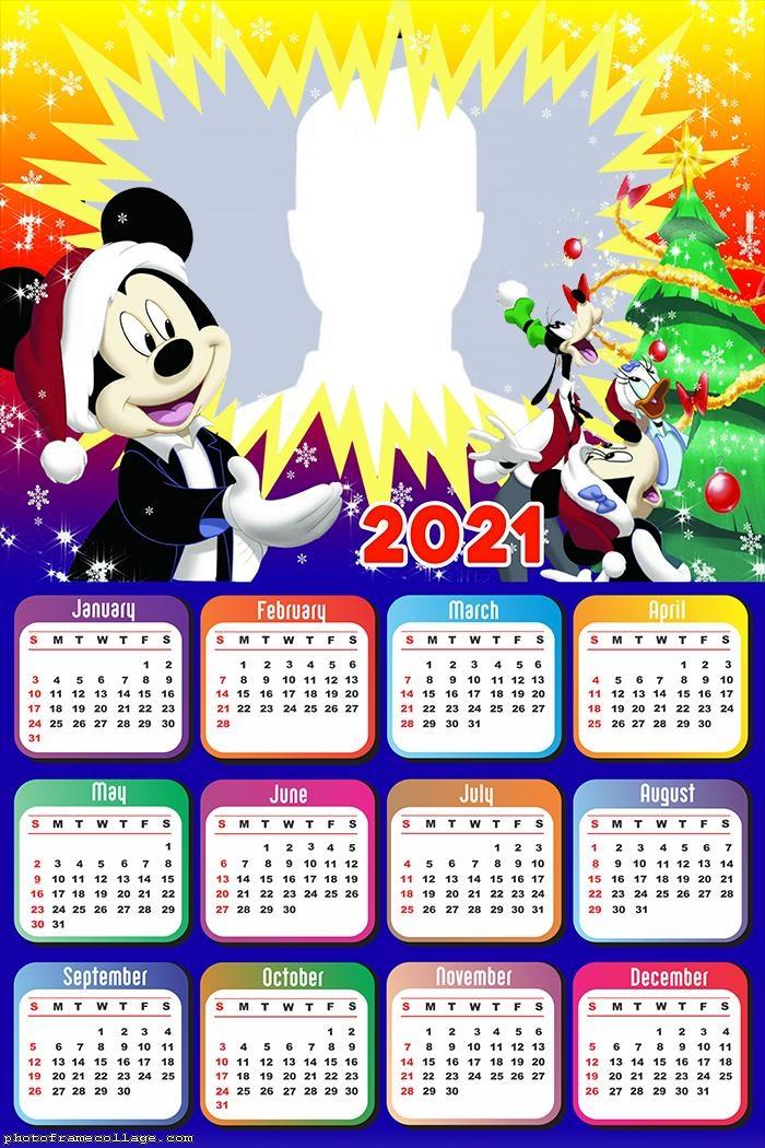 Mickey Merry Christmas Calendar 2021