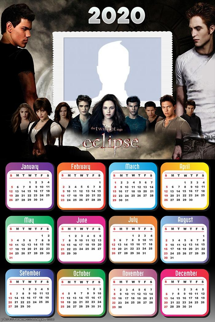 The Twilight saga Eclipse Calendar 2020