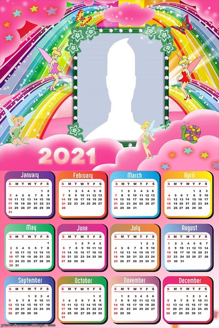 Calendar 2021 Tinker Bell Fairies