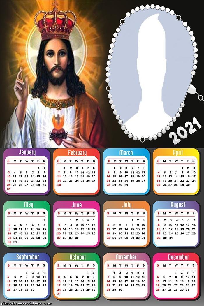 Calendar 2021 Jesus is King