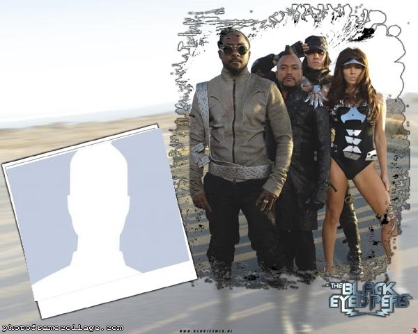 Photo Montage The Black Eyed Peas