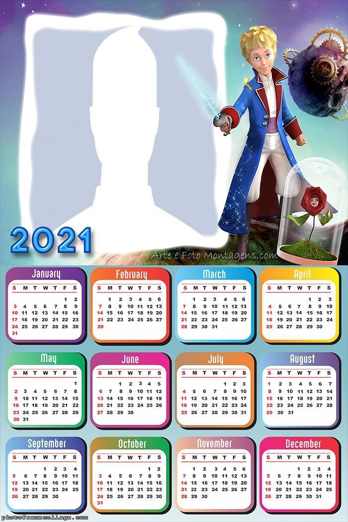 The Little Prince Calendar 2021
