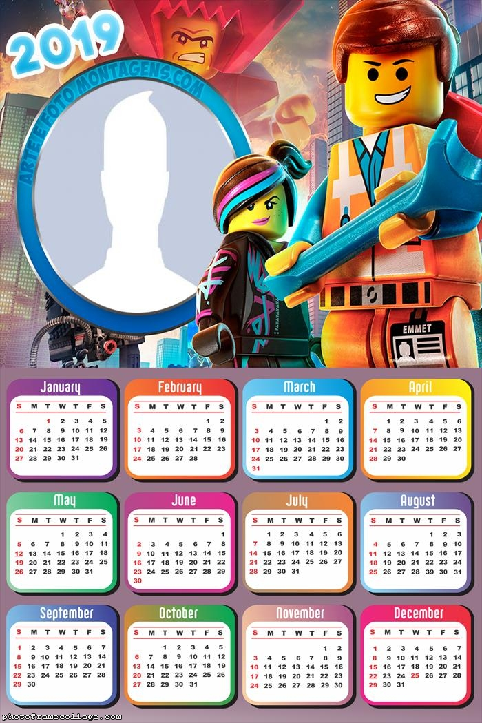 Lego Movie Calendar 2019