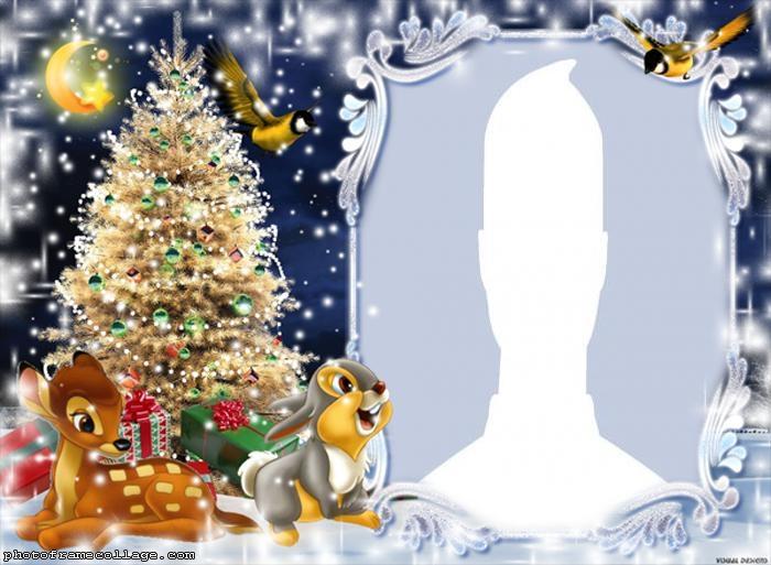 Add Christmas Border to Photo