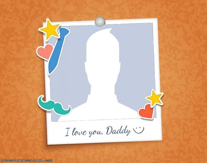 I Love you Daddy Photo Collage
