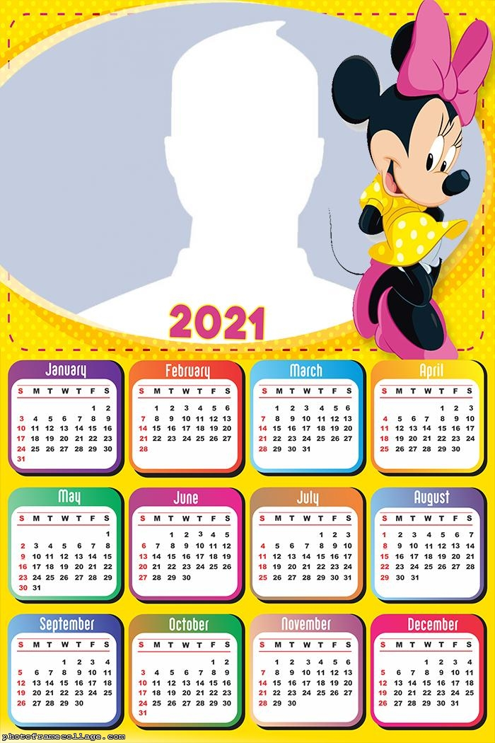 Minnie Calendar 2021