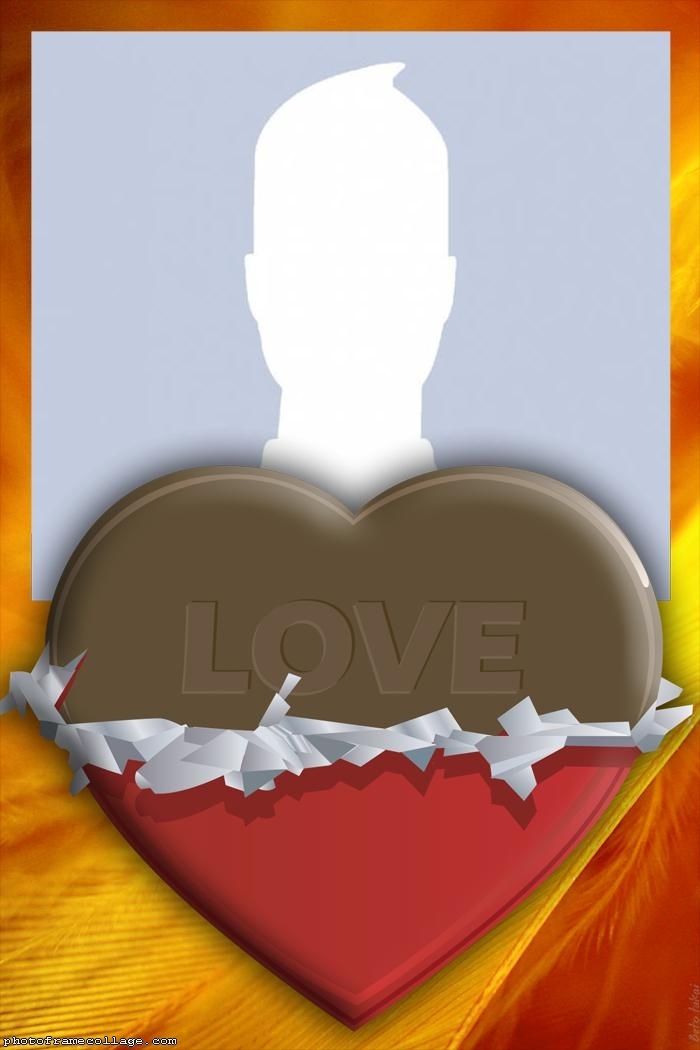 Chocolate Heart Collage