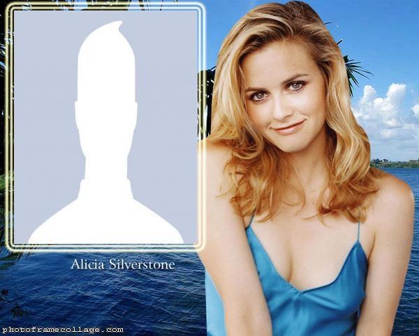 Alicia Silverstone Photo Collage