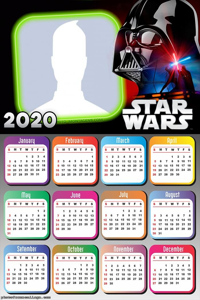Starwars Calendar 2020
