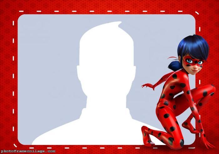 Photo Collage LadyBug