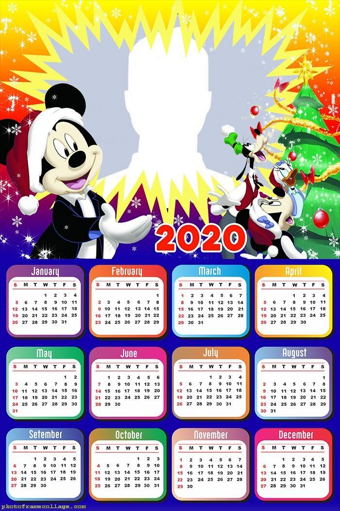 Mikey Mouse Christmas Calendar 2020