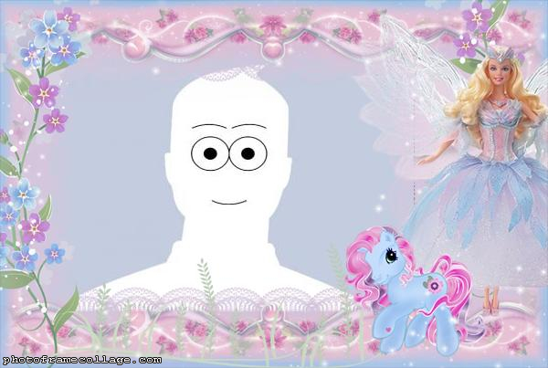 Barbie and My Little Pony Picture Free