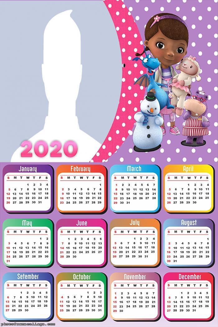 Doc McStuffins Calendar 2020