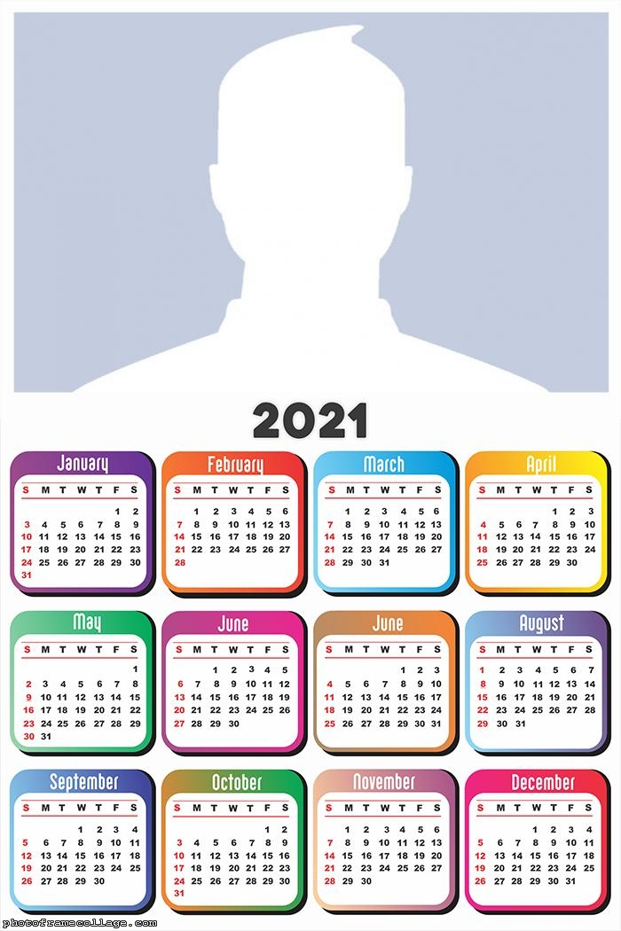 Calendar 2021 Frame Color