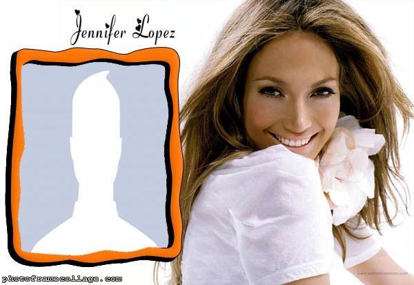 Photo Montage Jennifer Lopez