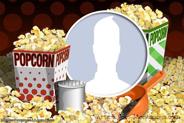 Picture Collage Pop Corn
