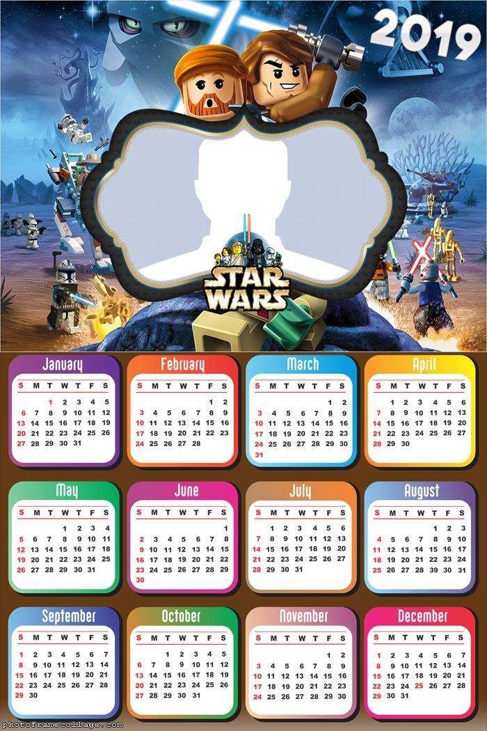 Star Wars Lego Calendar 2019