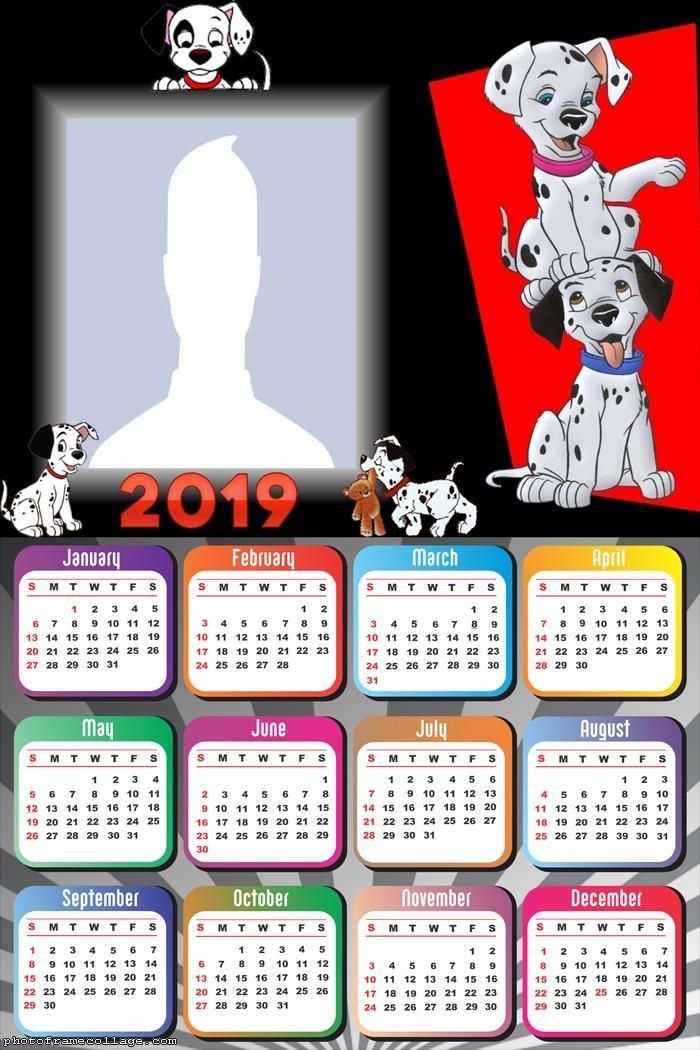 101 Dalmatians Calendar 2019
