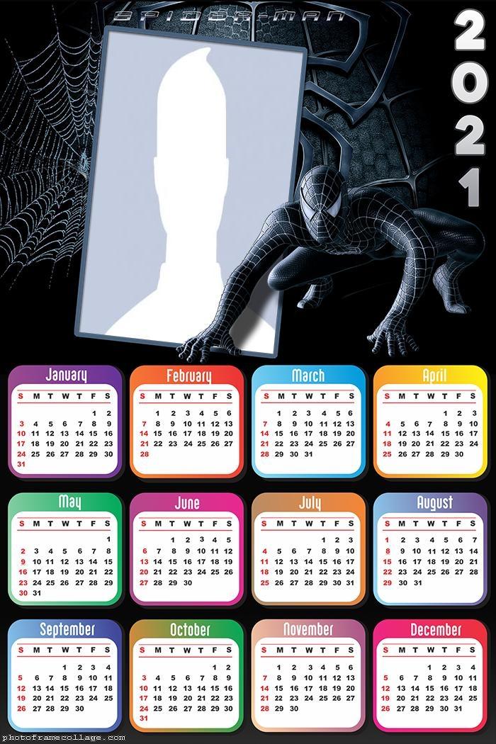 Calendar 2021 Spider Man Ultimate