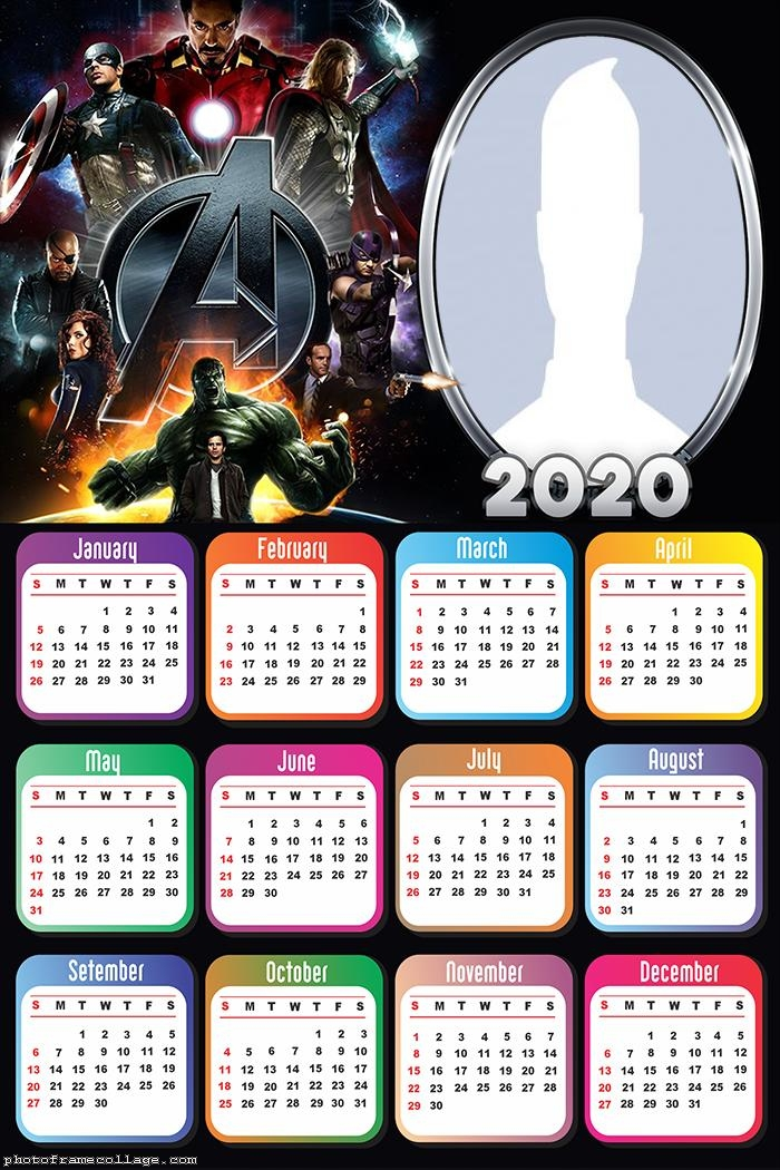 Avengers Ultimatum Calendar 2020