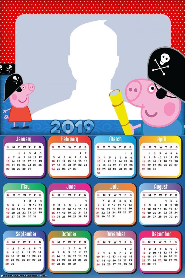 George Pirate Calendar 2019