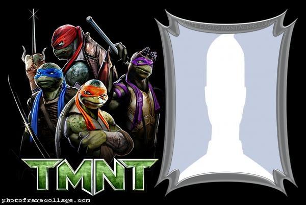 Ninja Turtles Photo Collage