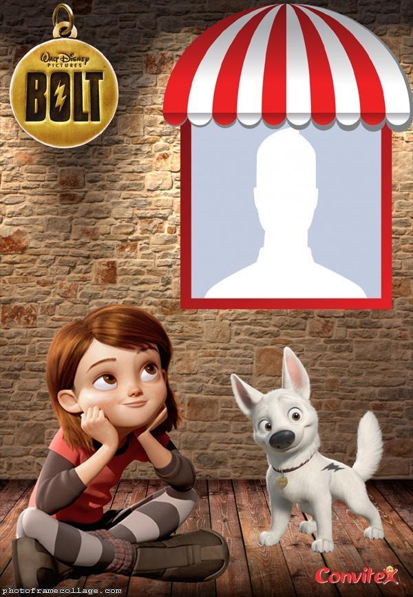 Dog Bolt Photo Collage