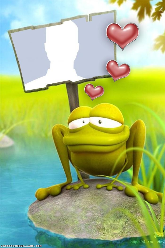 Toad of Valentines Day Collage