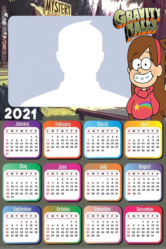 Gravity Falls Mabel Calendar 2021